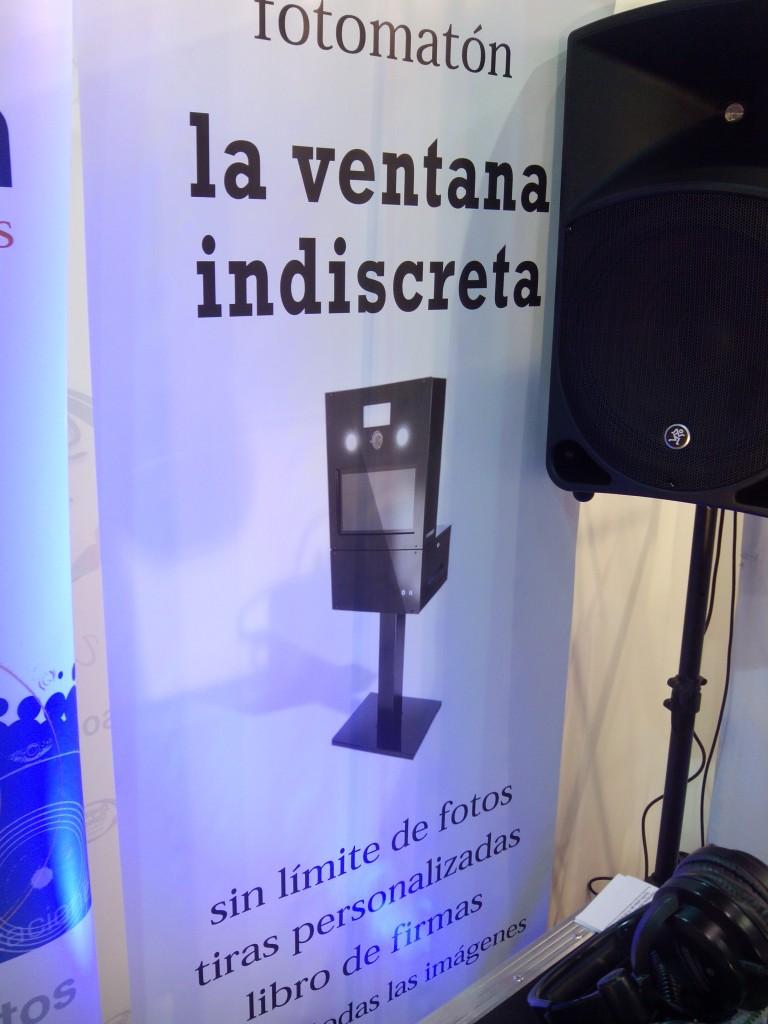 """Fotomatón """"La ventana indiscreta"""" de Sonifón"""