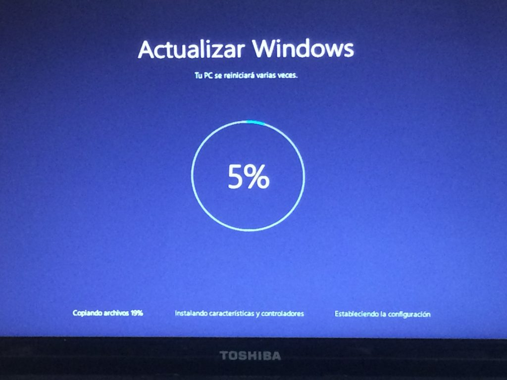 aunque no lo parezca, es muy importante comprobar que el ordenador está actualizado